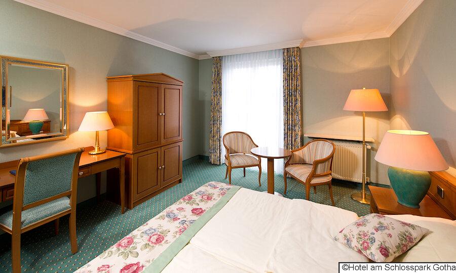 Bundesgartenschau 2021 – Hotel Am Schlosspark Gotha Doppelzimmer 2