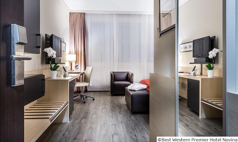 Städtereise Wien – Best Western Premier Hotel Novina Regensburg Zimmeransicht
