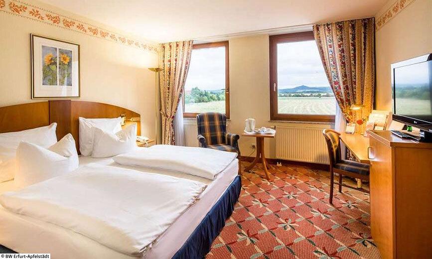 Bundesgartenschau 2021 – Best Western Hotel Apfelstädt Doppelzimmer