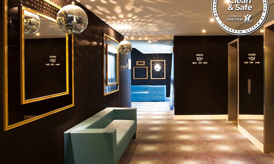 Flugreise - Portugal-Rundreise – Hotel Lutecia - Hotelflur