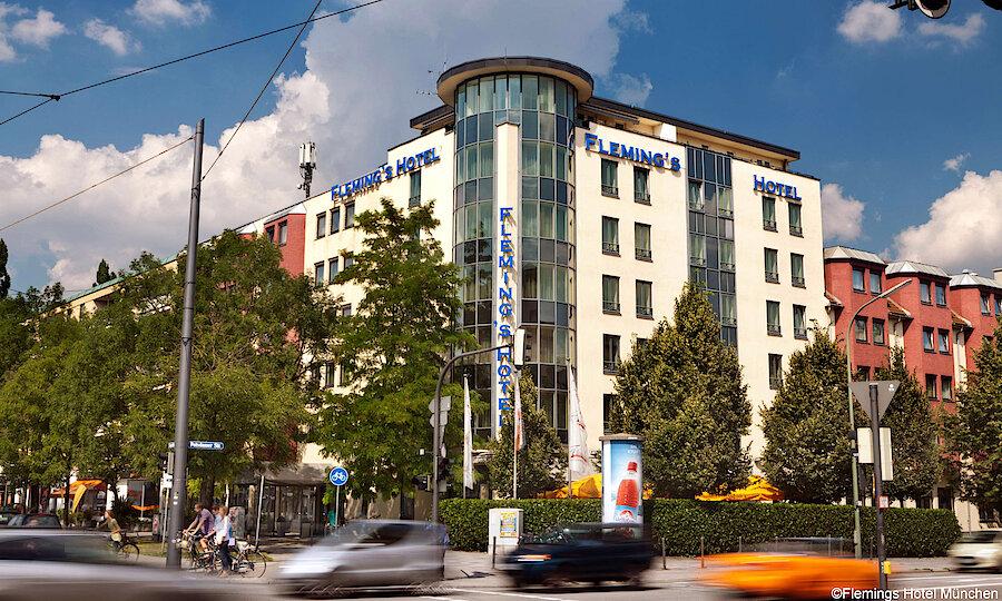 Städtereise München – Flemings Hotel München Außenansicht