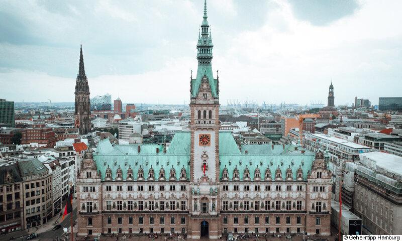 Städtereise Hamburg – Hamburger Rathaus©Geheimtipp Hamburg