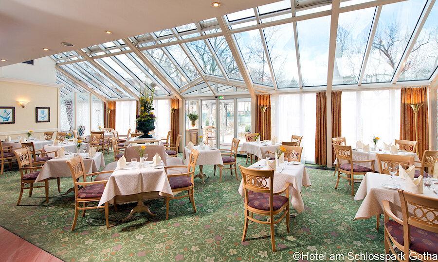 Bundesgartenschau 2021 – Hotel Am Schlosspark Gotha Restaurant