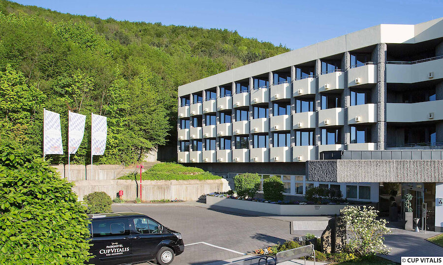 Erholung pur in Bad Kissingen – Parkhotel Cup Vitalis Bad Kissingen Aussenansicht