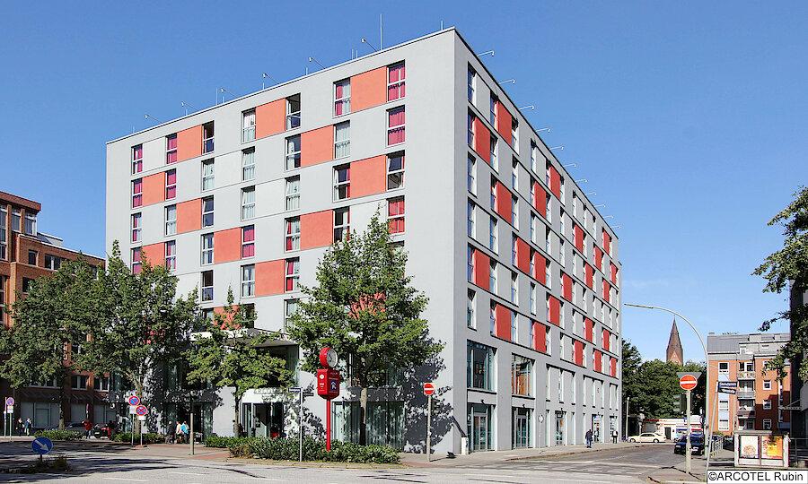 Städtereise Hamburg – ARCOTEL Rubin Hamburg Außenansicht