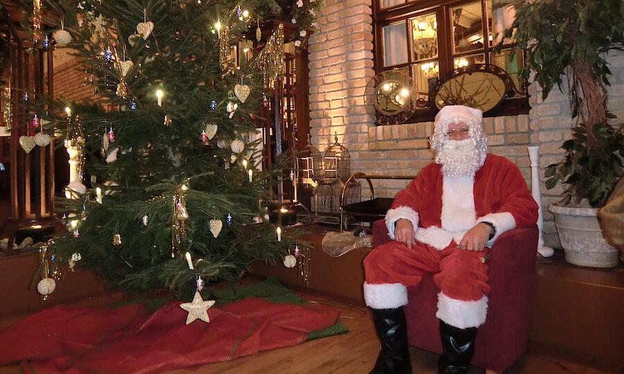 Weihnachten in Ostfriesland – Dorf Wangerland Weihnachtsmann