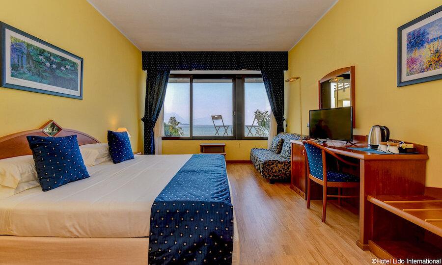 Lugana Weinreise Gardasee – Hotel Lido International Zimmer