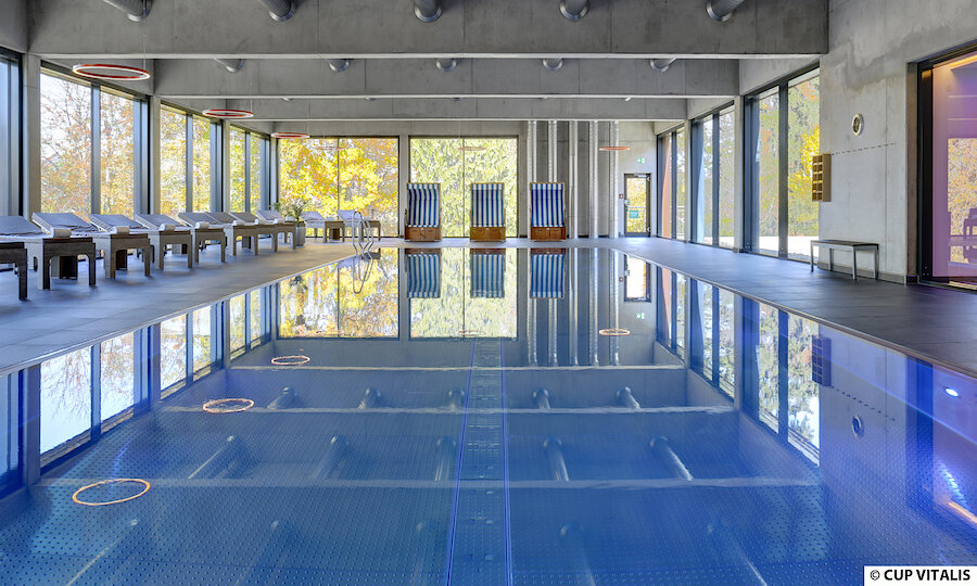 Erholung pur in Bad Kissingen – Parkhotel Cup Vitalis Bad Kissingen Schwimmbad 2