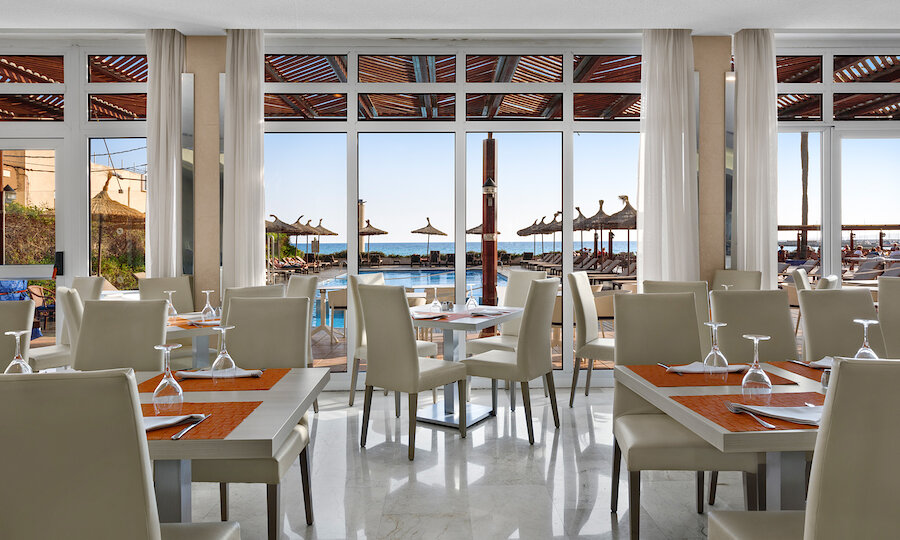 Flugreise - Mallorca zur Mandelblüte – Hotel El Cid Playa de Palma Restaurant
