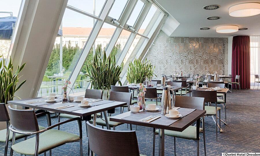 Städtereise Dresden – Dresden Dorint Hotel Frühstückssaal