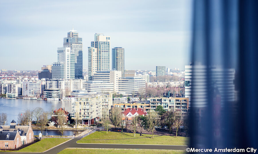 Floriade Expo 2022 – Mercure Hotel Amsterdam City Aussicht
