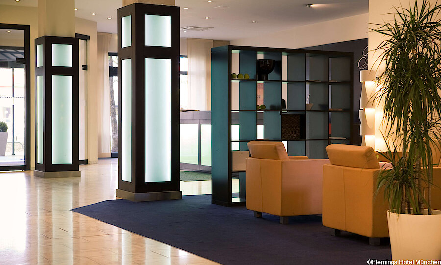 Städtereise München – Flemings Hotel München Lobby