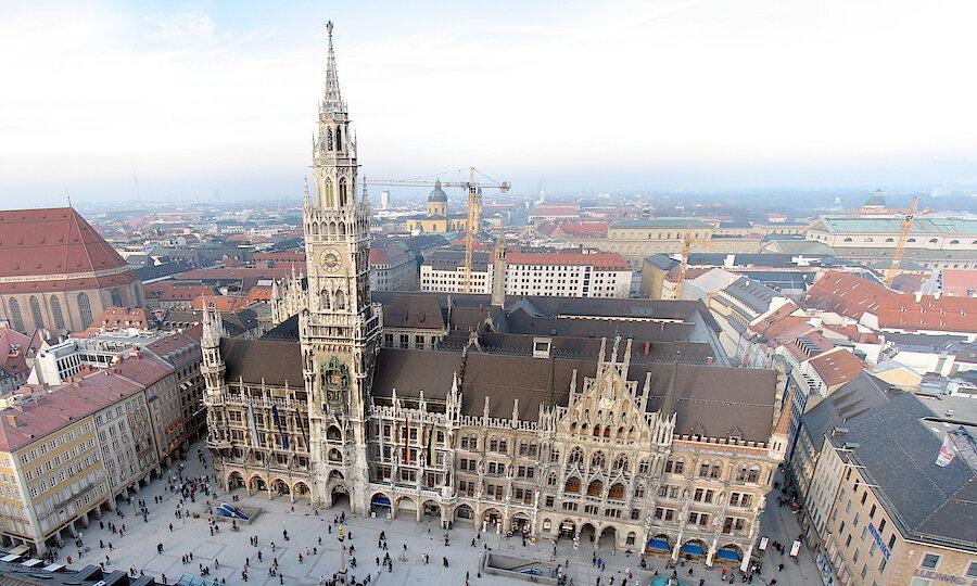 Städtereise München – Marienplatz