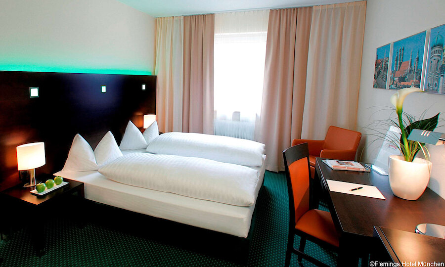 Städtereise München – Flemings Hotel München Zimmer