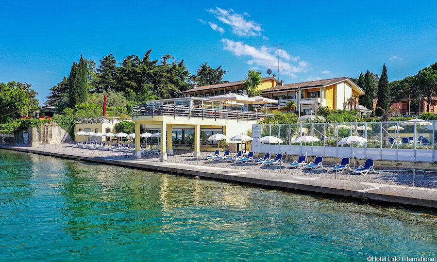 Lugana Weinreise Gardasee – Hotel Lido International Außenansicht