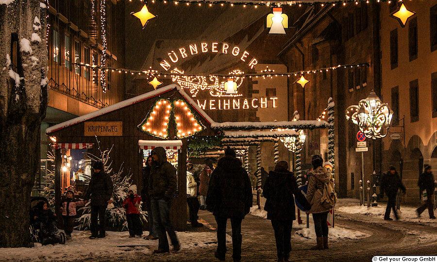 Silvester an der Romantischen Straße – Romantische Straße Nürnberg Weihnachtsmarkt