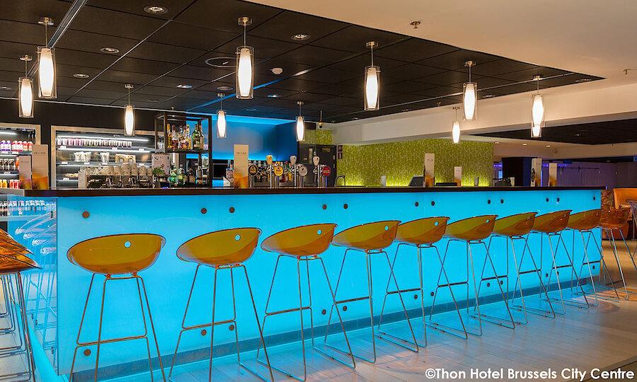 Städtereise Brüssel – Thon Hotel Brussels City Center Bar