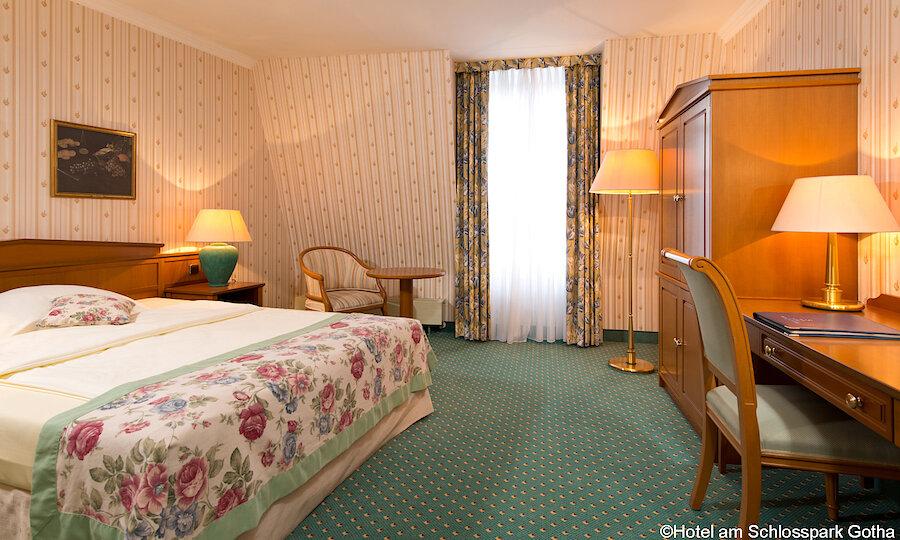 Bundesgartenschau 2021 – Hotel Am Schlosspark Gotha Einzelzimmer