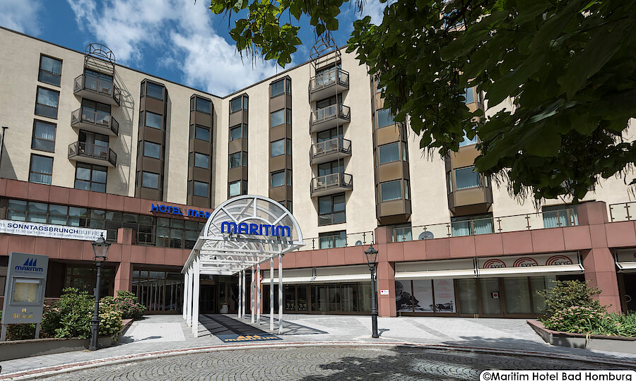 Advent im Taunus – Bad Homburg Maritim Hotel Außenansicht