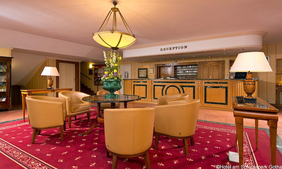 Bundesgartenschau 2021 – Hotel Am Schlosspark Gotha Lobby