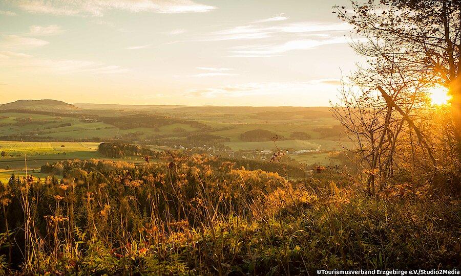 Frühling im Erzgebirge – Erzgebirge Landschaft
