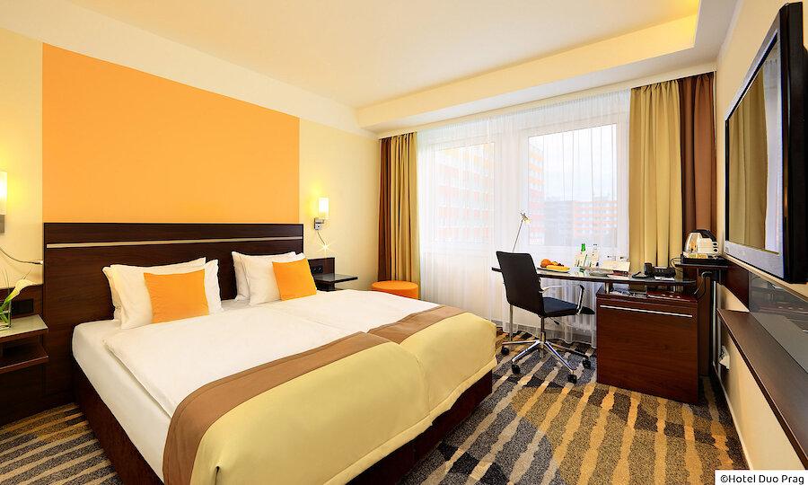 Radreise von Prag nach Dresden – Hotel Duo Prag Zimmer