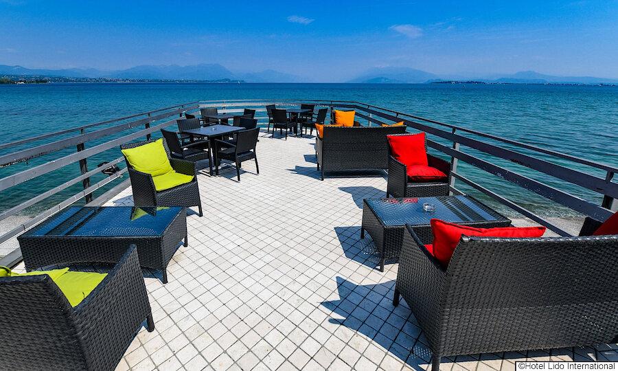 Lugana Weinreise Gardasee – Hotel Lido International Terrasse