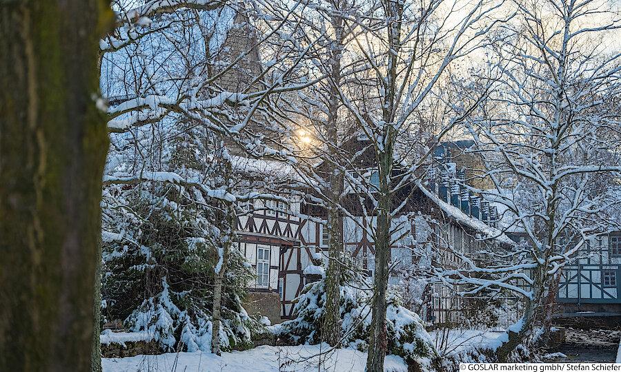 Advent im Harz – Goslar Liebfrauenberg im Winter