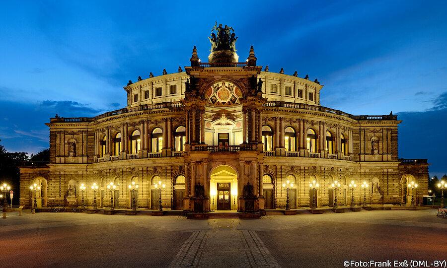 Städtereise Dresden – Dresden Semperoper