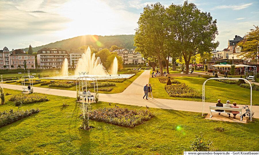 Erholung pur in Bad Kissingen – Bad Kissingen Parkanlage