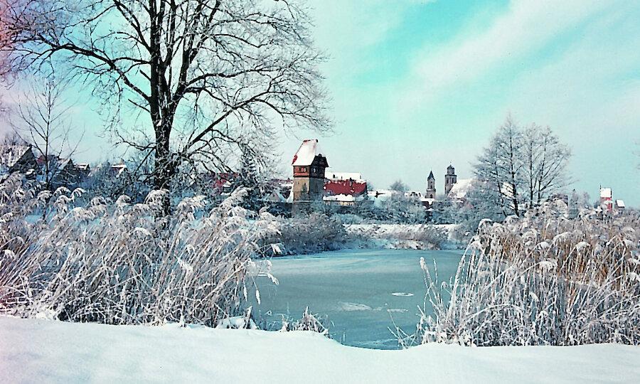 Silvester an der Romantischen Straße – Dinkesbühl im Winter