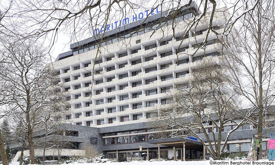 Advent im Harz – Maritim Berghotel Braunlage Außenansicht