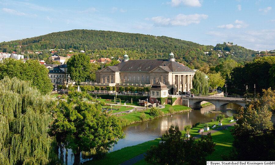 Erholung pur in Bad Kissingen – Bad Kissingen Blick auf den Regentenbau