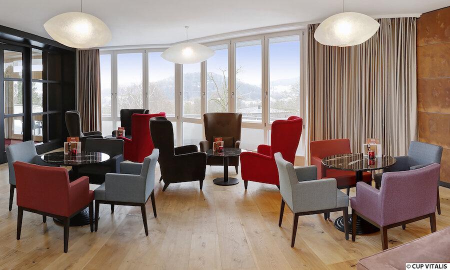 Erholung pur in Bad Kissingen – Parkhotel Cup Vitalis Bad Kissingen Lounge
